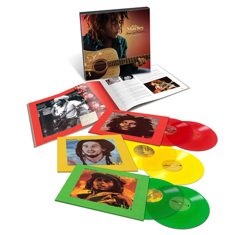 Songs Of Freedom: The Island Years (Excl. Coloured 6LP Boxset) by Bob Marley - Box set - shop now at Bob Marley store