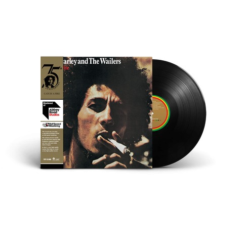 Catch A Fire (Ltd. Half-Speed Mastered LP) by Bob Marley & The Wailers - LP - shop now at Bob Marley store
