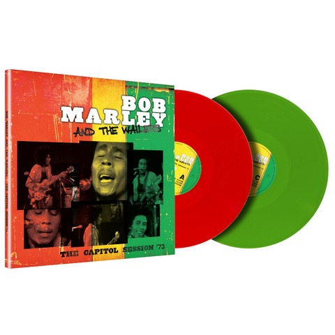 The Capitol Session '73 (Limited Trans Green + Trans Red 2LP) by Bob Marley & The Wailers - 2LP - shop now at Bob Marley store
