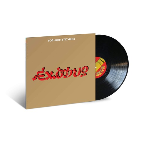 Exodus (Ltd. Jamaican Vinyl Pressings) by Bob Marley & The Wailers - lp - shop now at Bob Marley store