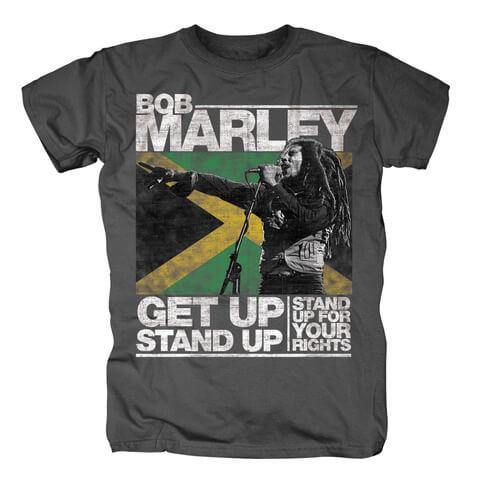 Get Up by Bob Marley - t-shirt - shop now at Bob Marley store
